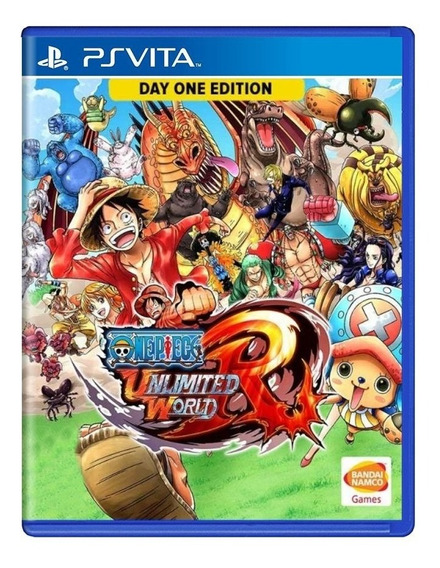 One Piece Unlimited World Red Ps Vita | Mídia Física