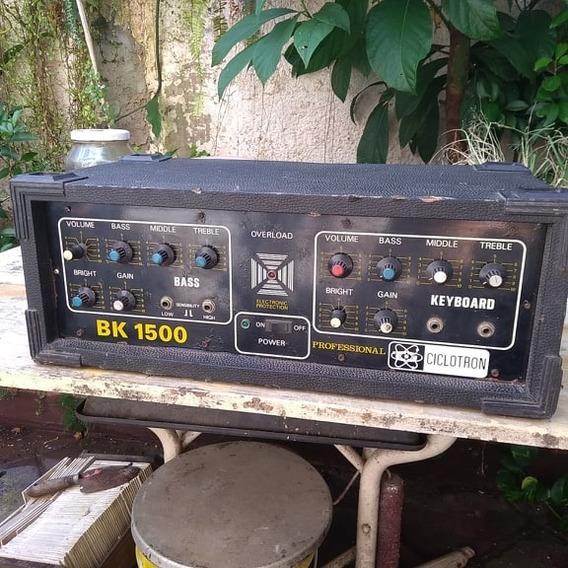 Amplificador Profissional Bk 1500 Ciclotron Usado