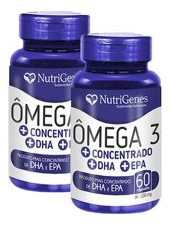 Ômega 3 Nutrigenes Concentrado +dha +epa - 2 Unidades