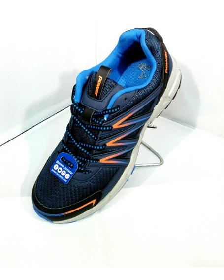 Zapatilla Azul Power 9048