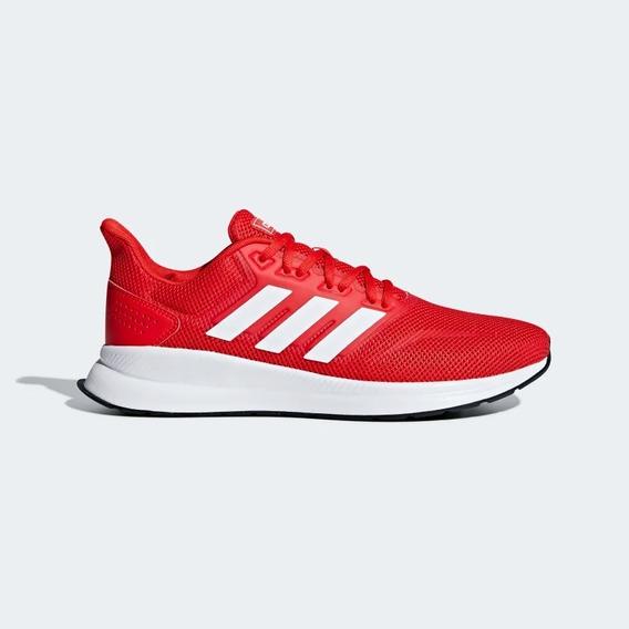 Zapatilla adidas Run Falcon Hombre Original Rojo