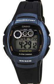 Relógio Digital Casio W-210-1b - Preto
