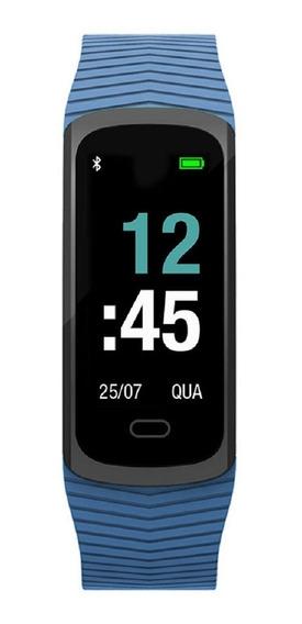 Relógio Mormaii Fitgps Unissex Mob3ab/8a Digital Gps Azul