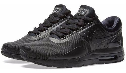Zapatillas Nike Air Max Zero Essential Triple Black Negro