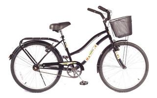 Bicicleta Niños M.hendel Playera Full R24 Nena Colores Vario