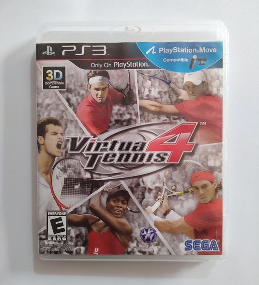 Virtua Tennis 4 - Ps3 Playstation 3 Original