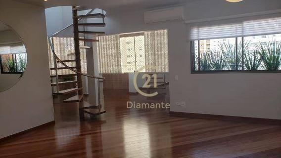 Cobertura Com 3 Dormitórios À Venda, 240 M² Por R$ 2.500.000,00 - Vila Clementino - São Paulo/sp - Co0418