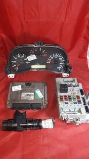 Kit Modulo De Injecao Doblo 03 1.6 16v Gas Iaw59fbs3 V1869