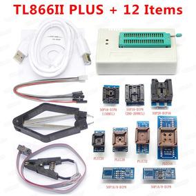 Gravador Programador Eprom Tl866ll Plus + 12 Adaptadores
