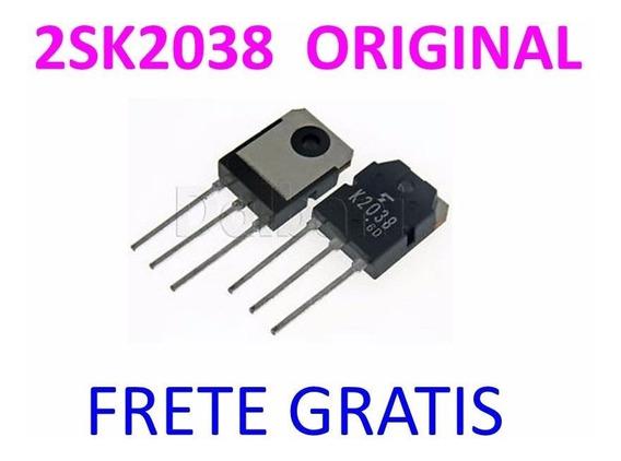 2sk2038 K2038 Original Toshiba Frete Gratis Envio Imediato