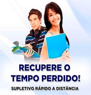 Supletivo Á Distancia Á Distancia Eja Escola De São Paulo