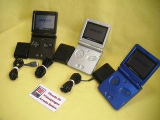 Consola Gameboy Advance Sp Con 1 Juego A Escoger