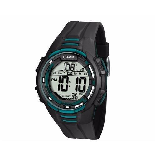 Relógio Masculino X-games Xmppd378 Bxpx Digital Preto