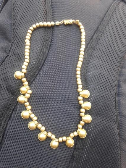 Collar De Bronce Antiguo
