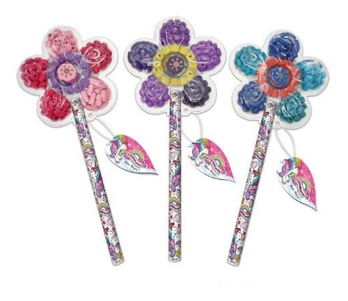 Bijou Flower Flor Plastica 90 Piezas Para Armar Collares