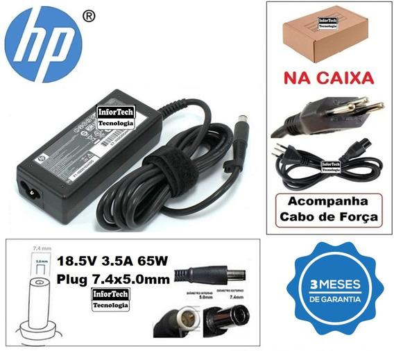 Carregador Para Notebook Hp 18.5v 3.5a 65w Novo!