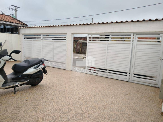 Saia Agora Mesmo Do Aluguel! Casa Com 2 Dormitórios À Venda, 42 M² Por R$ 140.000 - Parque Das Américas - Praia Grande/sp - Ca0744