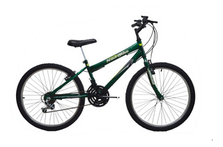 Bicicleta Aro 24 18 Marchas New Bike Infantil