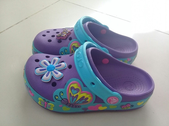 Crocs Originales Nena C13 (equivale A 29) Impecables !!!