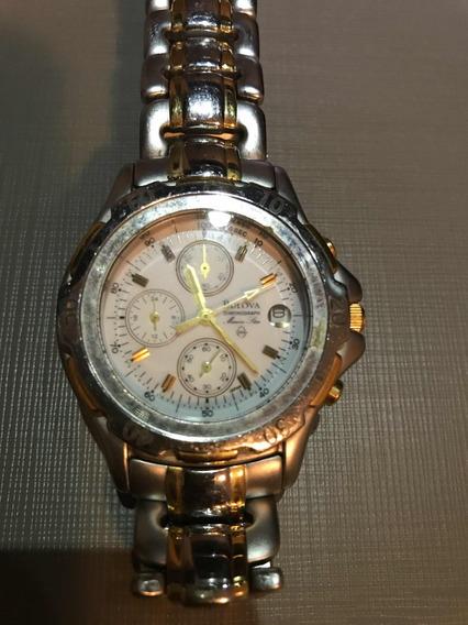 Relógio Suíço Bulova Marine Star. Masculino Aço Inoxidável