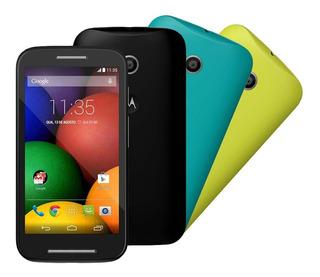 Smartphone Moto E-dtv Colors Preto Com Tv-digital Dual Chip