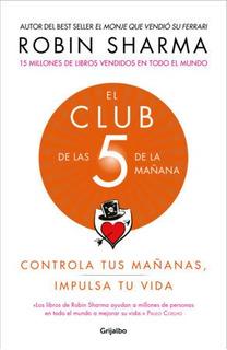 El Club De Las 5 Am Y 9 Libros Más De Superación Pers. Dig.