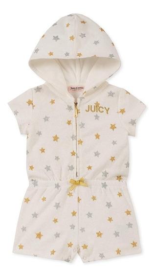 Jumpsuit Short Pelele Juicy Couture Para Niña 5 Años