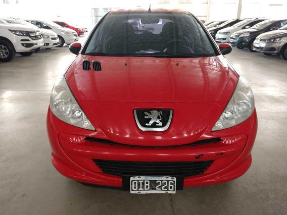 Peugeot 207 Compact 2014 94000 Km Rojo 5 Puertas