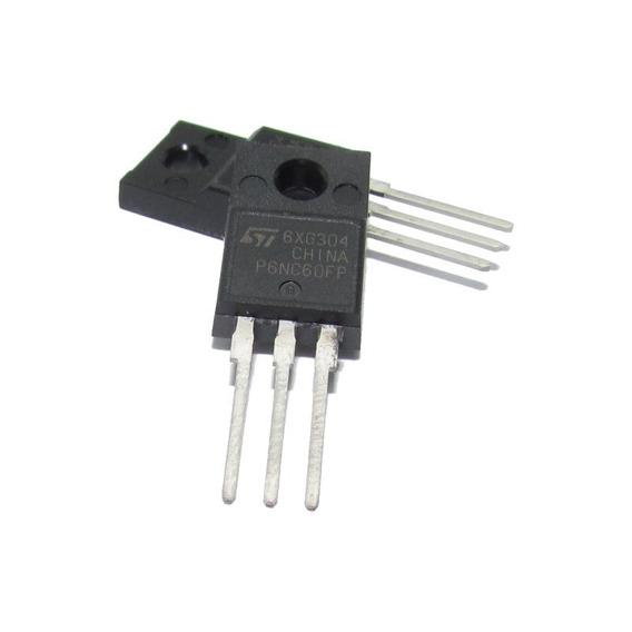 Transistor Mosfet Canal N 4 A Fqp 4nc60 4n60 2 Peças
