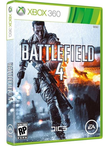 Jogo Xbox 360 Battlefield 4 -requer Espaço Interno Hd-inglês