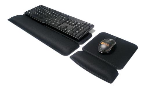 Kit Mousepad + Apoio Ergonômico Teclado - Ergosolution