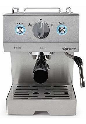 Capresso 125.05cafe Pro Cafetera De Espresso, Plata