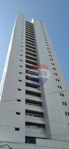 Flat Com 1 Dormitório À Venda, 24 M² Por R$ 170.000,00 - Boa Viagem - Recife/pe - Fl0183
