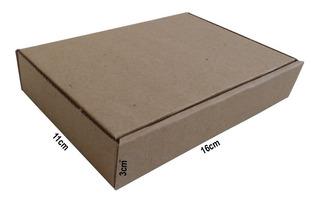 200 Caixas De Papelão 16x11x3 Para Correios E Mercado Envios