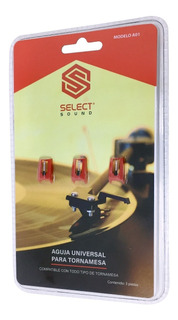 Agujas De Repuesto Para Tornamesas Select Sound