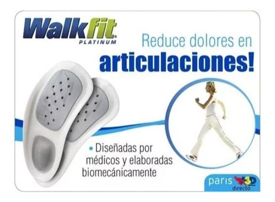 Plantillas Walk Fit Platinum Ortopedicas Plantilla Ortopedic