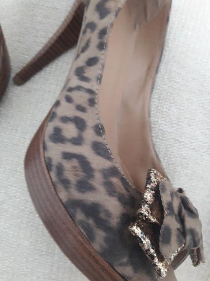 Zapatos Estileto Numero 40 Marca Via Uno