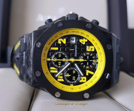 Relógio Eta - Modelo Roo Chronograph Bumble Bee - 42mm