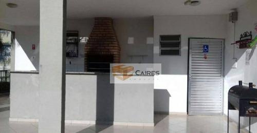 Apartamento Com 2 Dormitórios À Venda, 38 M² Por R$ 185.000 - Loteamento Parque São Martinho - Campinas/sp - Ap7112