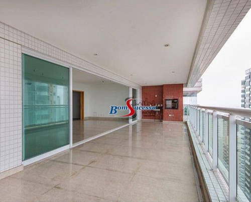 Apartamento Com 3 Dormitórios À Venda, 280 M² Por R$ 2.999.999,00 - Jardim Anália Franco - São Paulo/sp - Ap3042