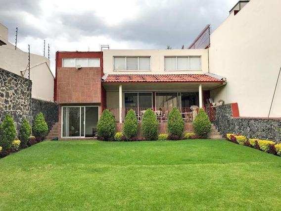 Magnífica Casa En Venta, Ampliación Jardines Del Pedregal