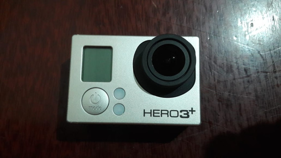 Gopro Hero 3+ Black 4k Camera Usada+carregador+bateria