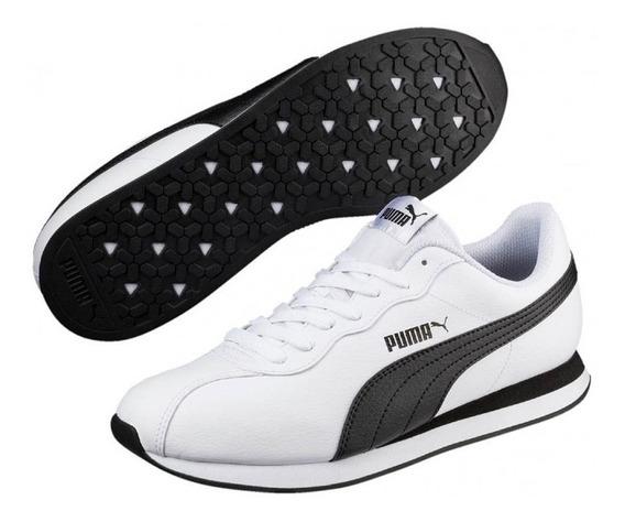 Tênis Puma Turin Ii Unissex - Branco/preto E Preto/branco