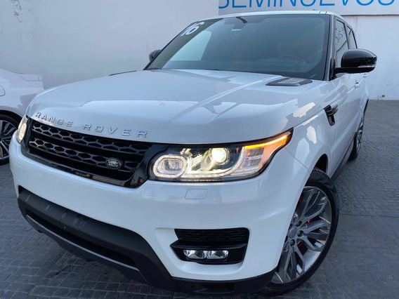 Range Rover Sport 5.0l Supercharged At 2016
