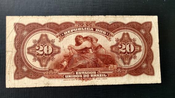 Cédula De 20 Mil Réis - R 117