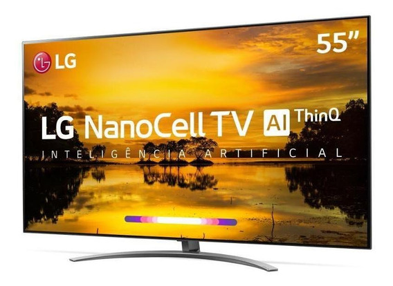 Smart Tv Lg 55 Uhd 4k Thinq Ai Smart Magic 55sm9000