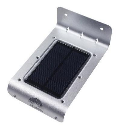 Luminaria Solar 16 Leds Com Sensor De Movimento