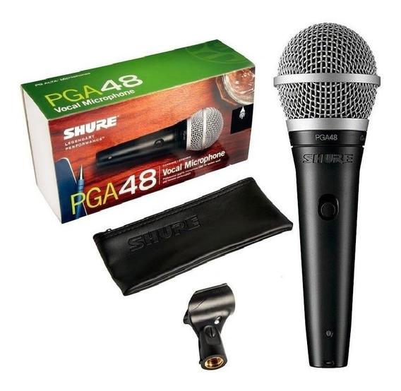 Microfone Shure Pga48 Pga Com 2 Anos De Garantia