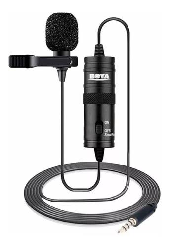 Microfone De Lapela P/ Cameras Canon Nikon E iPhone - By-m1