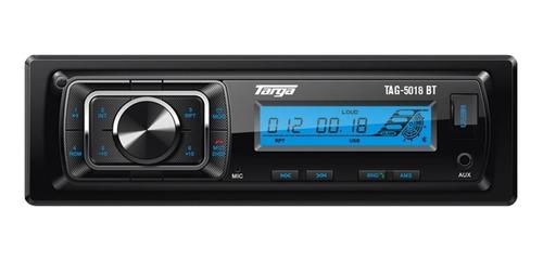 Estéreo para auto Targa TAG-5018BT con USB, bluetooth y lector de tarjeta SD